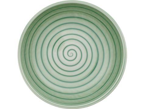 Dishware, Green, Plate, Aqua, Teal, Turquoise, Tableware, Serveware, Circle, Dinnerware set,
