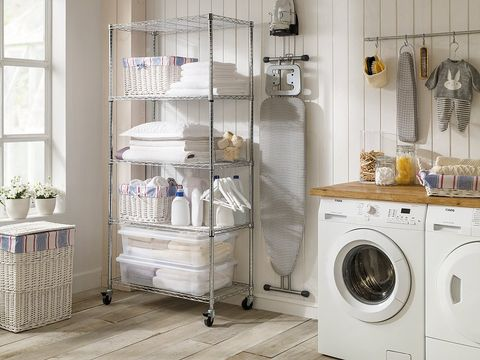 Equipa tu cuarto de lavado