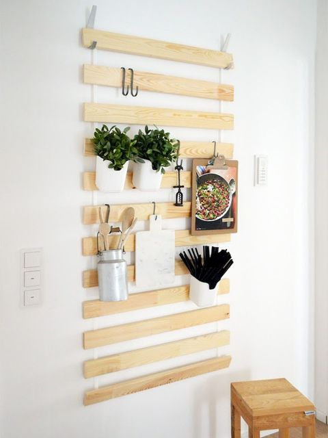 Shelf, Furniture, Wall, Room, Shelving, Interior design, Stairs, Wood, Table, House,