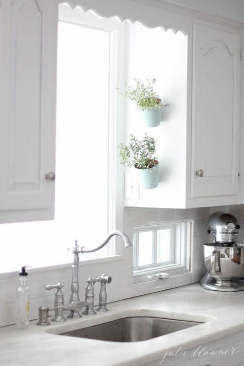 White, Room, Countertop, Sink, Kitchen, Property, Furniture, Cabinetry, Interior design, Tap,