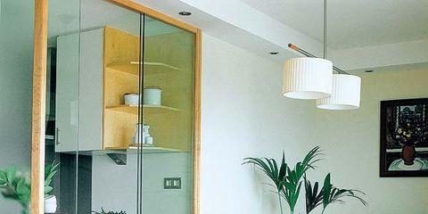 Wood, Room, Yellow, Green, Floor, Interior design, Table, Furniture, Glass, Flooring,