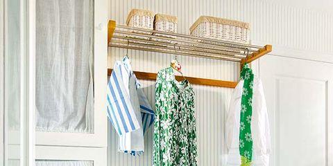 Blue, Interior design, Room, Textile, Aqua, Teal, Turquoise, Shelving, Fixture, Azure,