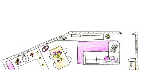 Line, Magenta, Purple, Parallel, Diagram, Plan, Illustration, Drawing, Sketch, Artwork,