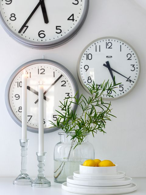 Font, Still life photography, Interior design, Clock, Grey, Home accessories, Number, Wall clock, Measuring instrument, Circle,