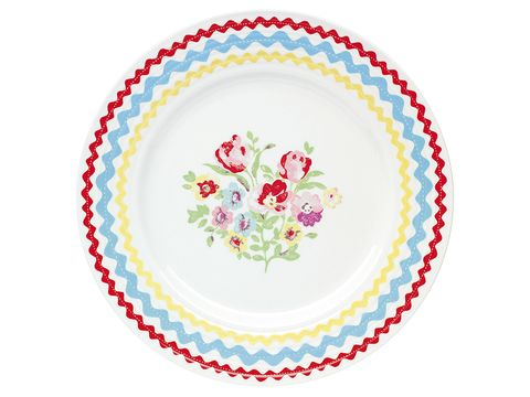 Dishware, Pattern, Serveware, Colorfulness, Circle, Creative arts, Floral design, Graphics, Porcelain,