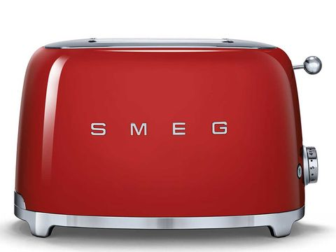 Toaster, Small appliance, Red, Home appliance, Suitcase,