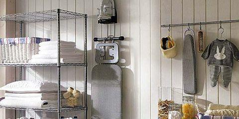 Una cocina moderna y minimalista for Muebles para lavanderia de casa