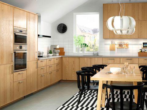 Wood, Room, Floor, Interior design, Cupboard, Furniture, Table, Flooring, White, Home,