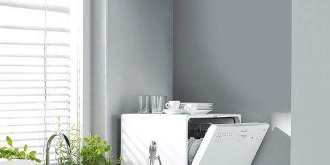 Room, Major appliance, Kitchen, Serveware, Drawer, Home, Kitchen appliance, Cabinetry, Home appliance, Produce,