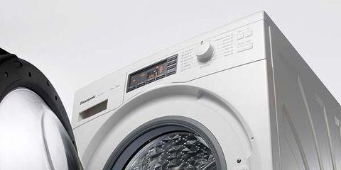 Product, Washing machine, Photograph, Major appliance, White, Clothes dryer, Metal, Grey, Machine, Circle,