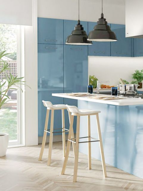 Cocinas peque as c mo aprovechar el espacio for Cocinas para espacios pequenos