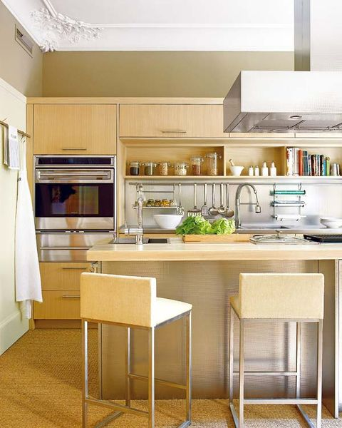 Room, Interior design, Kitchen appliance, Floor, Ceiling, Kitchen, Home appliance, Interior design, Glass, Major appliance,