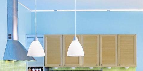 Room, Wood, Interior design, Floor, White, Furniture, Countertop, Flooring, Light fixture, Table,