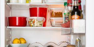Cómo ordenar la comida en la nevera