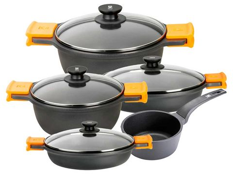Product, Orange, Yellow, Grey, Plastic, Gas, Machine, Metal, Cookware and bakeware, Circle,