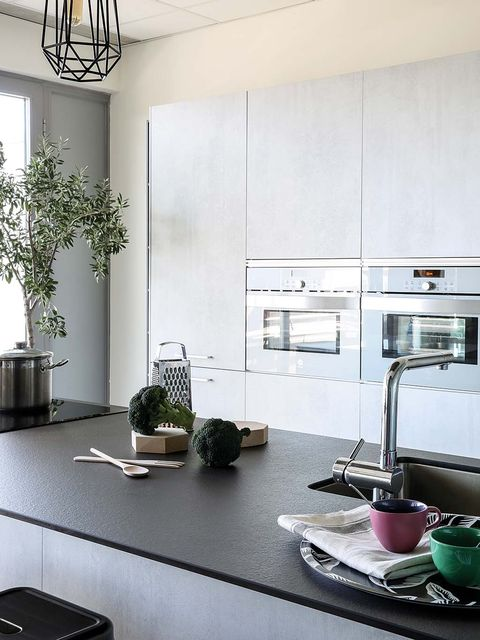 Room, White, Interior design, Furniture, Property, Countertop, Kitchen, House, Building, Home,