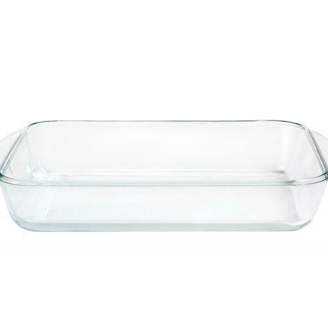 Fuentes de cristal rectangulares