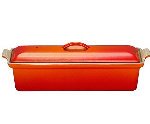 Fuente con tapa vintage para el horno