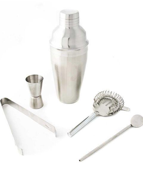 Coctelera y accesorios
