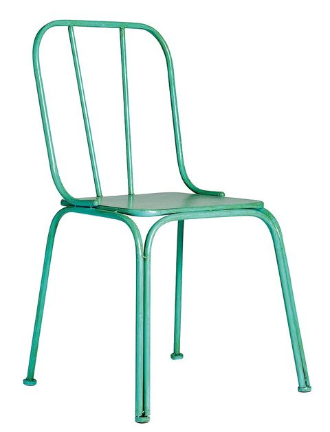 Green, Line, Chair, Plastic,
