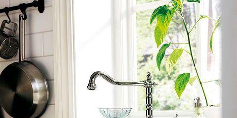 Product, Room, Plumbing fixture, Green, Property, Fluid, Wall, Bathroom sink, Interior design, White,
