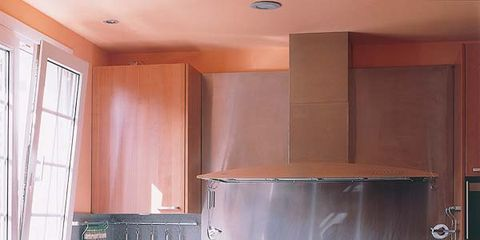 Room, Kitchen, Major appliance, Interior design, Home appliance, Kitchen appliance, Countertop, Cabinetry, House, Cupboard,