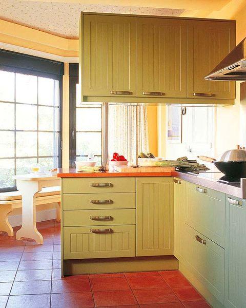 Room, Floor, Interior design, Wood, Flooring, Property, Drawer, Kitchen, Furniture, Cabinetry,