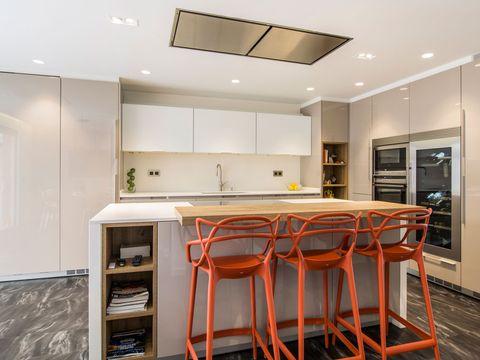 Lighting, Room, Floor, Property, Interior design, Ceiling, Furniture, Wall, Light fixture, Flooring,