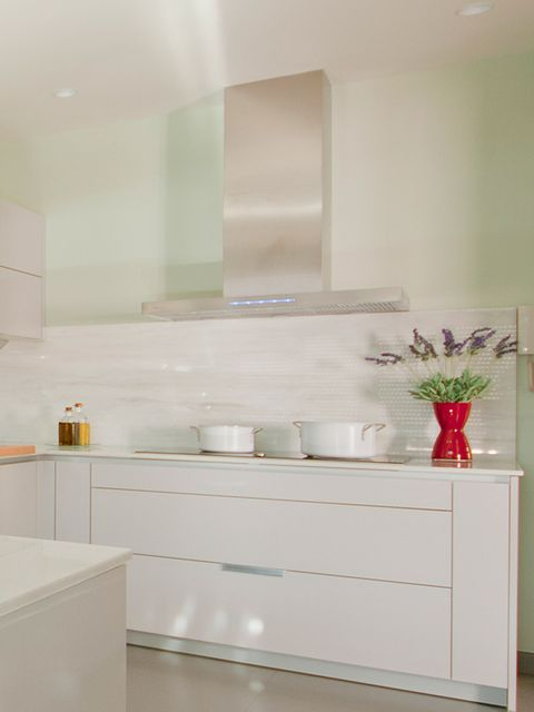 Room, Property, Interior design, Wall, Glass, Interior design, Plumbing fixture, Tap, Sink, Flowerpot,