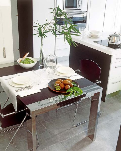 Table, Outdoor furniture, Meal, Home, Cuisine, Outdoor table, Dishware, Dining room, Serveware, Houseplant,