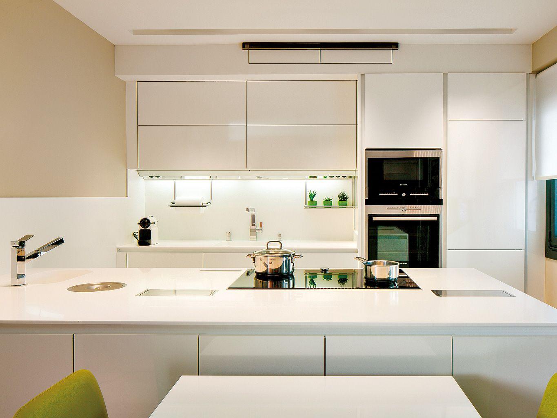 Una cocina funcional y cálida