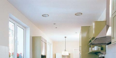 Room, Interior design, Kitchen, Major appliance, Floor, Countertop, Kitchen appliance, House, Home, Ceiling,