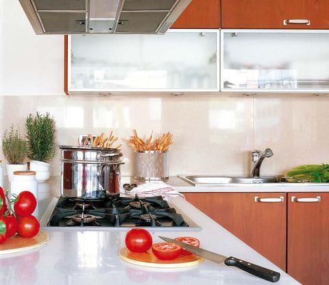 Room, Food, Kitchen, Vegetable, Produce, Kitchen utensil, Major appliance, Tableware, Dishware, Kitchen appliance,