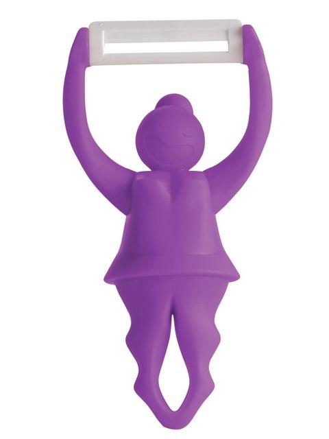 Purple, Violet, Magenta, Lavender, Toy, Balance, Costume accessory,