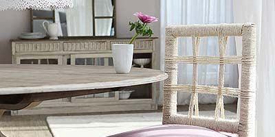 Wood, Room, Interior design, Flowerpot, Furniture, Purple, Table, Floor, Linens, Hardwood,