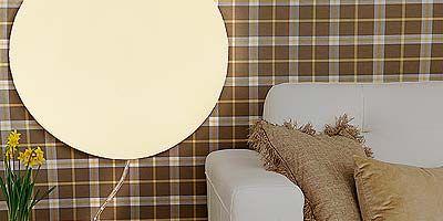 Brown, Room, Interior design, Textile, Wall, Couch, Interior design, Flowerpot, Living room, Beige,