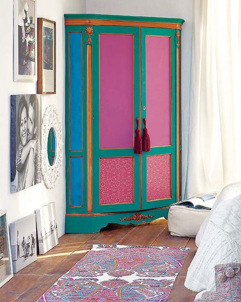 Interior design, Room, Textile, Floor, Flooring, Door, Teal, Linens, Fixture, Home door,