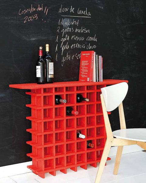 Bottle, Red, Glass bottle, Drink, Alcoholic beverage, Wine bottle, Distilled beverage, Shelving, Drinkware, Alcohol,