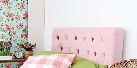 Room, Interior design, Textile, Furniture, Pink, Wall, Cushion, Home, Flooring, Floor,