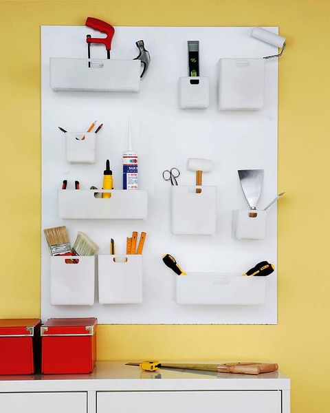 Wall, Shelving, Coquelicot, Collection, Tool,