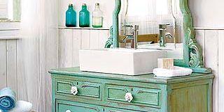 Cómo convertir una cómoda en mueble de lavabo