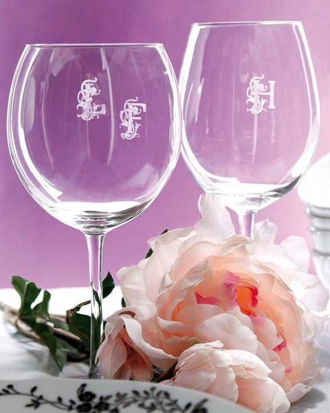 Glass, Stemware, Drinkware, Wine glass, Barware, Pink, Tableware, Champagne stemware, Transparent material, Dishware,
