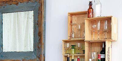 Wood, Brown, Bottle, Wall, Glass bottle, Drink, Room, Interior design, Alcoholic beverage, Alcohol,
