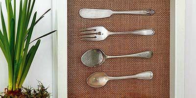 Flowerpot, Wall, Cutlery, Houseplant, Kitchen utensil, Hardwood, Home accessories, Perennial plant, Sedge family,