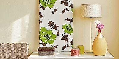 Room, Green, Interior design, Wall, Leaf, Interior design, Peach, Twig, Still life photography, Lampshade,