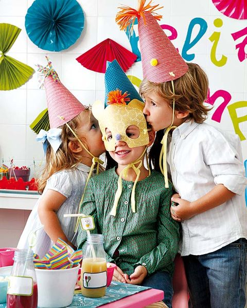 Party hat, Bottle, Party supply, Costume accessory, Drink, Glass bottle, Party, Costume hat, Birthday party, Distilled beverage,