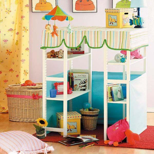 Casita librería para los niños