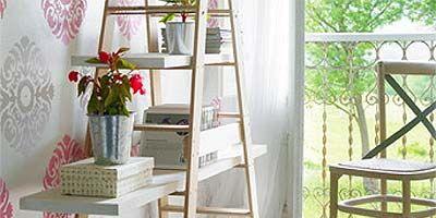 Wood, Room, Ladder, Petal, House, Hardwood, Musical instrument accessory, Shade, Shelving, Flowerpot,