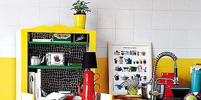 Flowerpot, Shelving, Kitchen appliance, Houseplant, Shelf, Major appliance, Paint, Small appliance, Home appliance, Plastic,