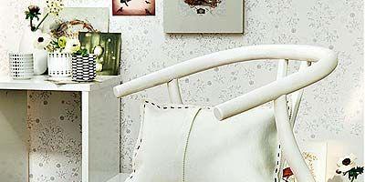 Room, Wall, Interior design, Furniture, Grey, Linens, Flowerpot, Design, Still life photography, Cushion,